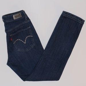LEVI'S Mid Rise Skinny Jeans size 6 Short